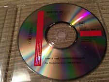 BOB DYLAN - THINGS HAVE CHANGED single edit CD SINGLE 1 TRACK PROMO