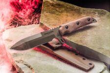 Couteau Tops Missile Strike Lame Acier Carbone 1095 Manche Micarta USA TPMS01
