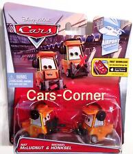 Disney pixar Cars Nat mclugnat & Michael honksel du tokyo Airport-Mattel OVP