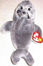 Ty Beanie Baby Slippery The Seal Gosport P E Pellets Retired Error 1998 1999