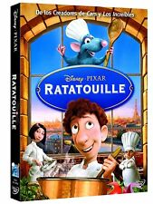 Ratatouille Disney·pixar DVD incluye funda Cartón castellano Catalán e Inglés