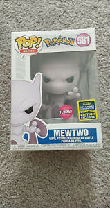 Funko POP! - Mewtwo #581 - Pokemon - Flocked - SDCC 2020 - MINT - IN HAND