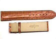 EBERHARD cinturino MARRONE CHIARO ref. 014 coccodrillo CHRONO 4 croco strap 20mm