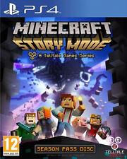 Minecraft: Story Mode - Season Disc (Sony PlayStation 4, 2015)