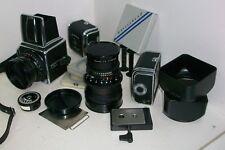 HASSELBLAD 500C / EQUIPO FOTOGRAFICO original, camara, objetivos, Magazines...