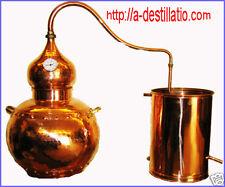 Alambic cuivre 50 L Avec le thermomètre.