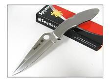 SPYDERCO POLICE Stainless Steel Plain Edge - SC7P - Couteau Spyderco VG-10 Japan
