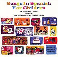 NEW Songs In Spanish For Children (Canciones En Español Para Niños) (Audio CD)