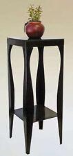 Brand New 31-1/2'H Vintage Style Square Top Plant/Phone Stand (Black) - Asdi