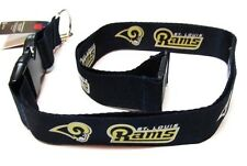 St Louis Rams Safety Lanyard Keychain ID Holder