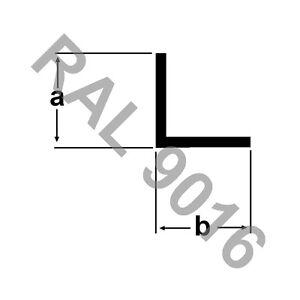 (2,70€/m) Alu Winkel 15x15x2mm RAL9016 WEISS 2m Winkelstange Winkelprofil