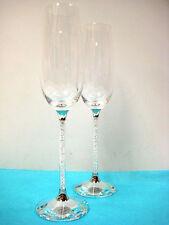Swarovski Crystalline Toasting Flutes 255678 Set Of 2