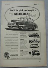 1953 Morris Oxford Original advert No.1