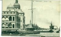 POSTCARD EGYPT Port Said harbour  LL 66