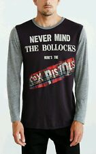 NEW TRUNK THE SEX PISTOLS NEVER MIND THE BOLLOCKS LONG SLEEVE T SHIRT SIZE LARGE