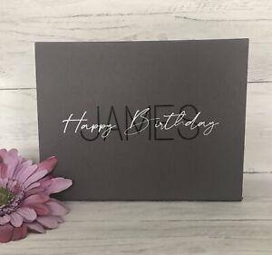 Luxury Personalised Magnetic Special Birthday Gift Box Keepsake Box