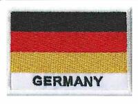 Patch Allemagne écusson badge patche drapeau Germany 70 x 45 mm brodé