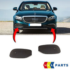 NEW GENUINE MERCEDES BENZ E CLASS W213 FRONT BUMPER LOWER GRILLS PAIR SET NS+OS