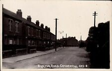 Creswell near Clowne & Worksop. Elmton Road # 253-8 by Rotophoto.