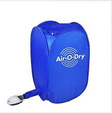 New Air-O-Dry mini Portable Electric Clothes Dryer Bag Blue 110v/220v