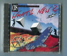 CBS Whats New CD-Promo OVP 1990 PATRICIA KAAS vision fields NENA flash & the pan