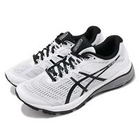 Asics GT-1000 8 White Black Grey Men Running Training Shoes Sneaker 1011A540-100