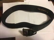 TAC SHIELD Tactical Rigger Belt, Small Black In Good Used Condition