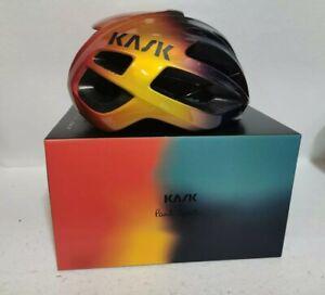 Paul Smith + Kask 'Artist Stripe Fade' Protone Cycling Helmet Large