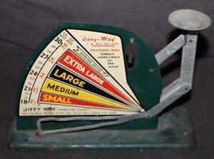 Vintage Egg Scale JIFFY-WAY Owatonna, Minnesota
