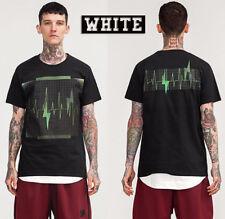 2018 Rare 100% Cotton FOR OFFWHITE KANYE WEST Design Concert God T-shirt Size S
