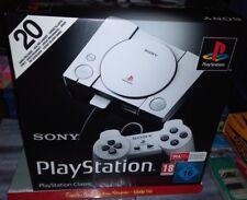 SONY PlayStation Classic Mini Console avec 20 jeux PS1 installés NEUF BOITE