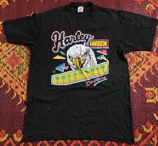 Vintage 90s Harley Davidsoj Daytona Single Stitch Eagle Tshirt Mens Size L 42-44