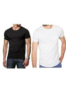 Lot de 3 t-shirt homme,tee-shirt coton manches courte