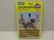 NEW BREYER 2005 STABLEMATES 1:32 SCALE HORSE & RIDER SET #5210