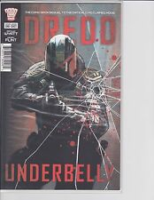 2000 AD Judge Dredd Underbelly 1ST PRINT NM/M MOVIE SEQUEL LIMITED