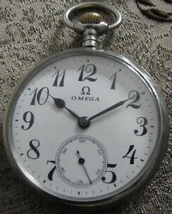 Vintage OMEGA SWISS POCKET WATCH