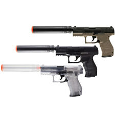 Walther PPQ Airsoft Spring Pistol Combat Kit w/ BBs & Spare Magazine