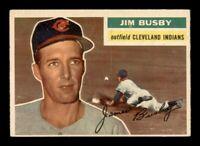 1956 Topps Set Break # 330 Jim Busby EX *OBGcards*