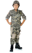 U.S. Army Ranger Deluxe Child Boys Soldier Commando Fancy Dress Up Party Costume
