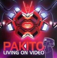 Pakito: Living On Video w/ Artwork MUSIC AUDIO CD Electronic 2006 Ultra 4 Mixes