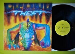 "GRAND THEFT: LP 12"" (Hablabel  HBL 11003) Italy Press 1988 Hard Rock Psyché Mint"