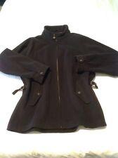 Hermoso Abrigo Negro de Lana Ralph Lauren XL