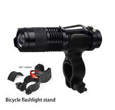 Bicycle Light 1200LM CREE Q5 LED EDC Flashlight Torch Lamp Bike kit