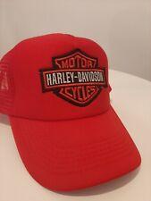 Harley-Davidson Mütze Damen Ladies Cap weiß Nylon Sommer Cap  2012 NEU!