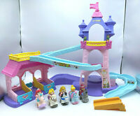 Fisher Price Little People Disney Princess Klip Klop Horse Stable Castle 5 Horse