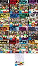50 DVDs * SOUTH PARK - STAFFEL / SEASON 1 - 17 IM SET ~ MB # NEU OVP +