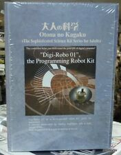 "Gakken Sicence Kit Series ""Digi-Robo 01"" the programming Robot Kit SUPER RARE"