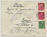 Österreich 1915 AUSLANDSBRIEF, PRAG nach GENEVE (Schweiz)