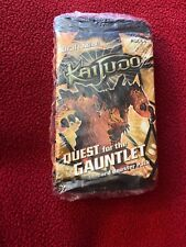 Kaijudo Quest for the Gauntlet Booster Pack Of 5 Packs, 14 Cards / Pack, New