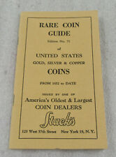 Rare Vintage Stack's of New York - Price List Edition No. 71 Rare Coin Guide
